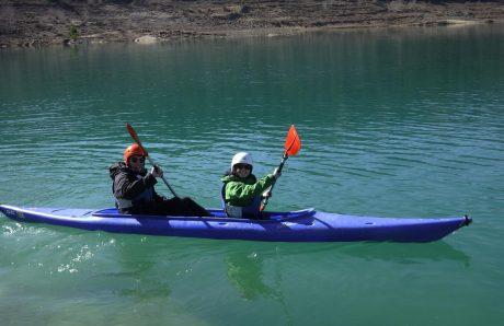 kayak parapente ager